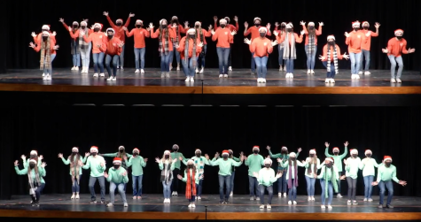 Show choir brings Christmas cheer from a distance