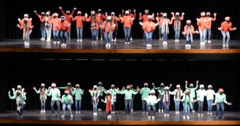 Show choir brings Christmas cheer from a distance