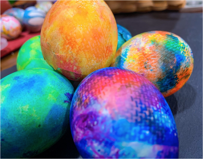 Try these unique ways to dye Easter eggs